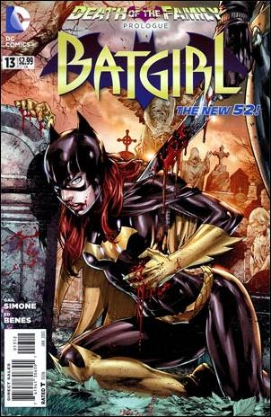 Batgirl (2011) 13-C by DC