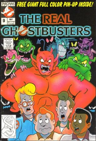 Real Ghostbusters (1988) 9-A