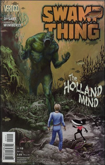 Swamp Thing (2004) 19-A by Vertigo