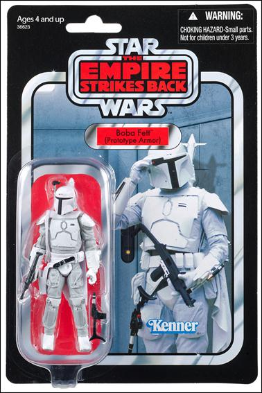 """Star Wars: Vintage Collection 3 3/4"""" Figures (Exclusives) Boba Fett (Prototype Armor) Mailaway Exclusive by Hasbro"""