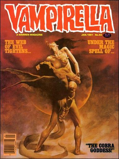 Vampirella 93-A by Warren
