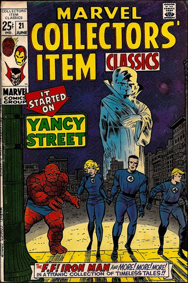 Marvel Collectors' Item Classics 21-A by Marvel