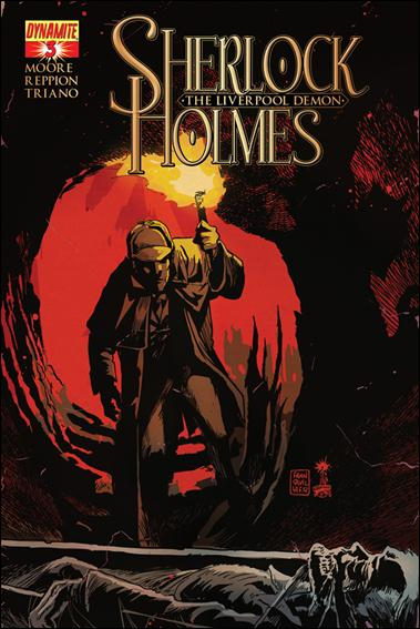 Sherlock Holmes: The Liverpool Demon 3-A by Dynamite Entertainment