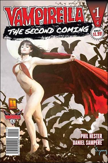 Vampirella: Second Coming 1-A by Harris