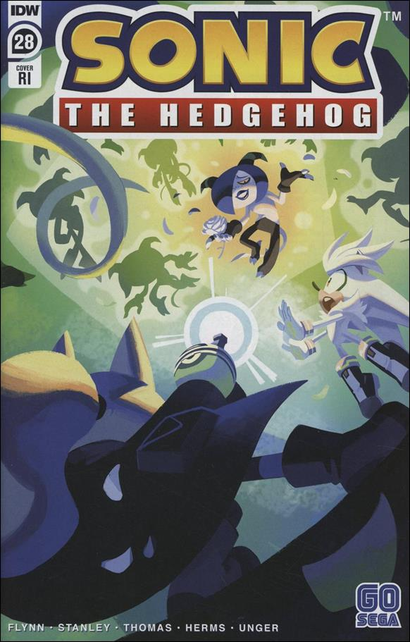 Sonic the Hedgehog (2018) 28-C by IDW