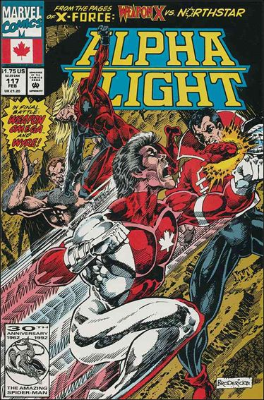 Alpha Flight (1983) 117-A by Marvel