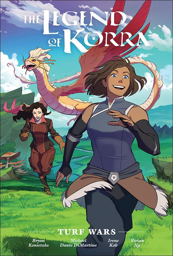 Legend of Korra: Turf Wars Library Edition nn-A by Dark Horse