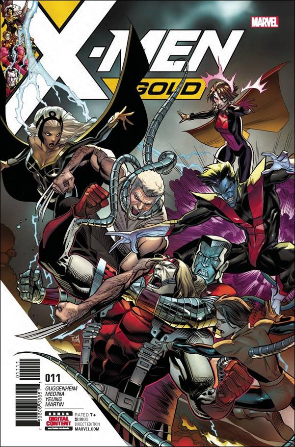 X-Men: Gold 11-A by Marvel