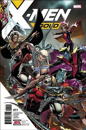 X-Men: Gold (2017) 11-A