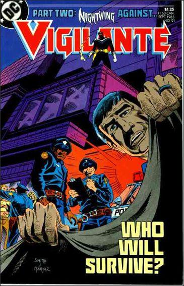 Vigilante (1983) 21-A by DC