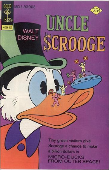 Walt Disney Uncle Scrooge 130-A by Gemstone