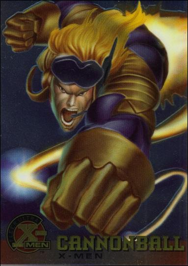 1995 Fleer Ultra X-Men All Chromium (Base Set) 4-A by Fleer
