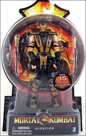 Mortal Kombat Scorpion by Jazwares