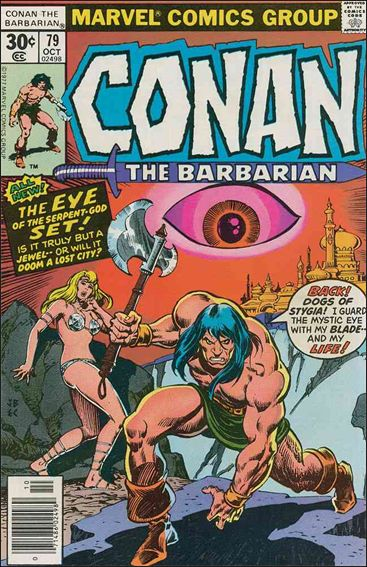 Conan the Barbarian (1970) 79-A by Marvel