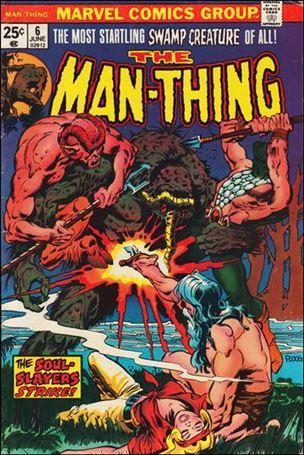 Man-Thing (1974) 6-A