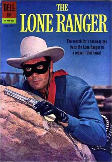 Lone Ranger (1948) 145-A by Dell