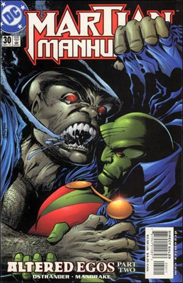 Martian Manhunter (1998) 30-A by DC