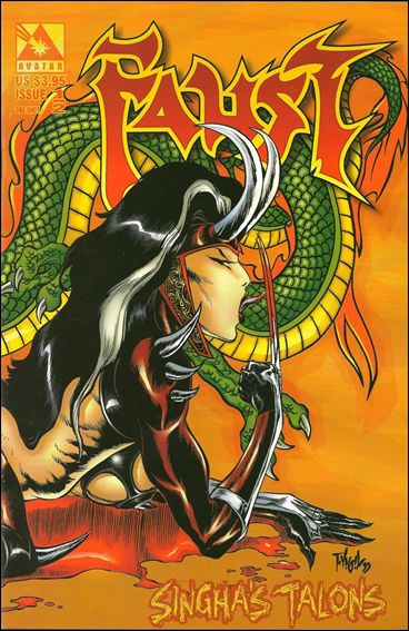 Faust: Singha's Talons  1/2-A by Avatar Press