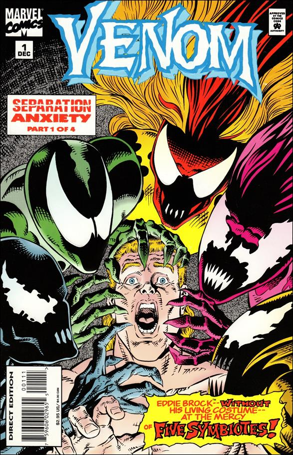Venom: Separation Anxiety 1-A by Marvel
