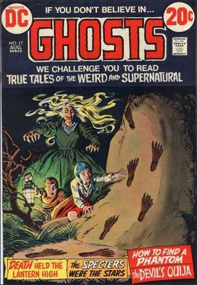 Ghosts (1971) 17-A by DC