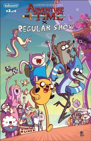 Adventure Time/Regular Show 2-B