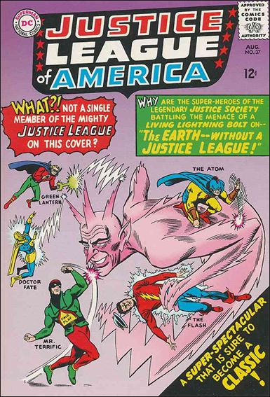 Justice League of America (1960) 37-A by DC
