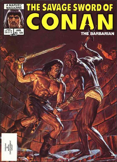 Savage Sword of Conan (1974) 120-A by Marvel