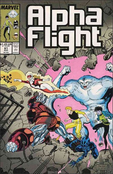 Alpha Flight (1983) 61-A by Marvel