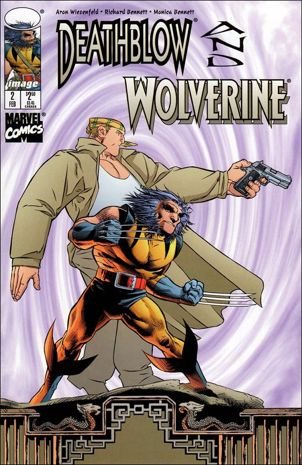 Deathblow/Wolverine 2-A by Image