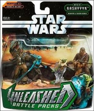 Star Wars: Unleashed Multi-Figure Battle Packs Battle of Kashyyyk - Kashyyyk and Felucia Heroes