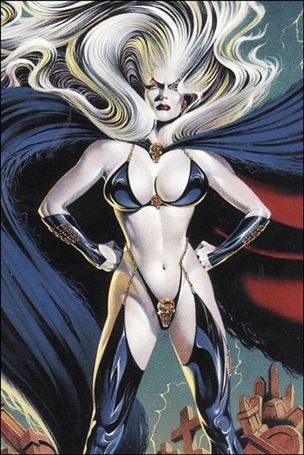 Lady Death and the Women of Chaos!: Love Bites (Base Set) 35-A