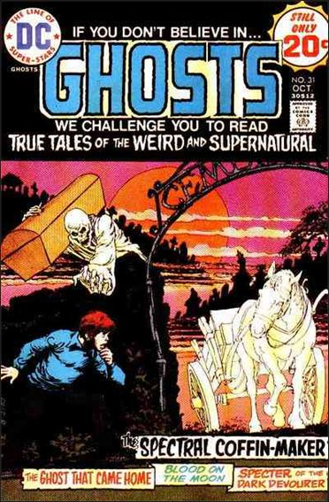 Ghosts (1971) 31-A by DC