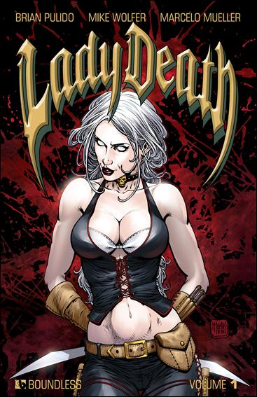 Lady Death 1-A by Boundless Comics