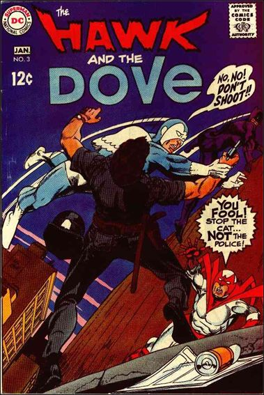 Hawk and the Dove (1968) 3-A by DC