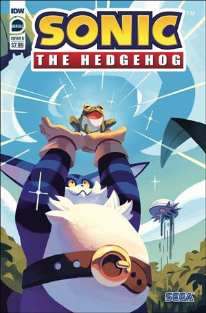 Sonic the Hedgehog Annual 2020-B