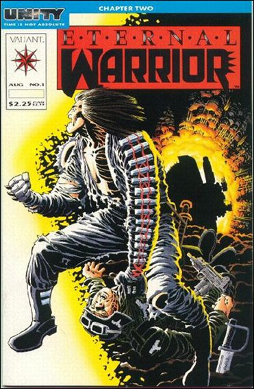 Eternal Warrior (1992) 1-A by Valiant