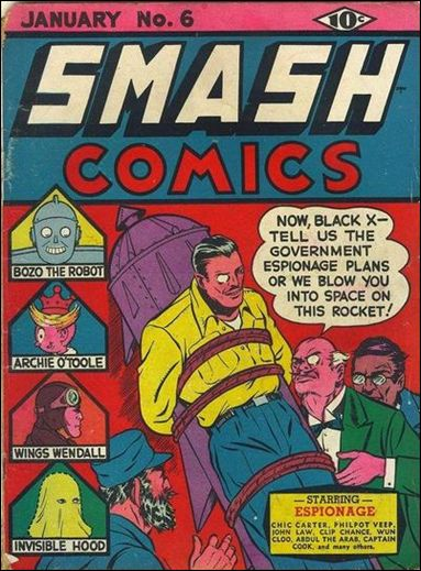 Smash Comics (1939) 6-A by Quality