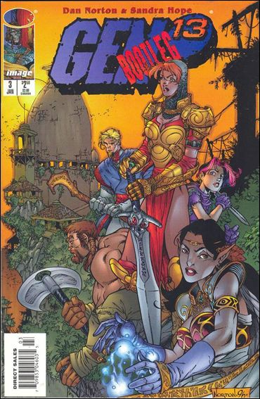 Gen13 Bootleg 3-A by WildStorm
