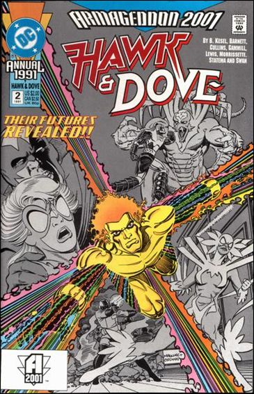Hawk and Dove Annual 2-A by DC