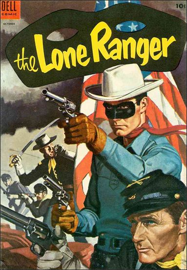 Lone Ranger (1948) 76-A by Dell