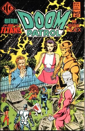 Official Doom Patrol Index 2-A