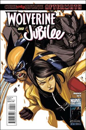 Wolverine and Jubilee 4-A