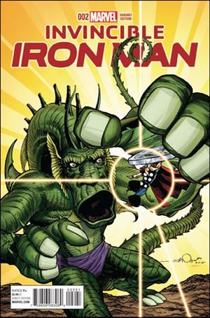 Invincible Iron Man (2015)  2-B