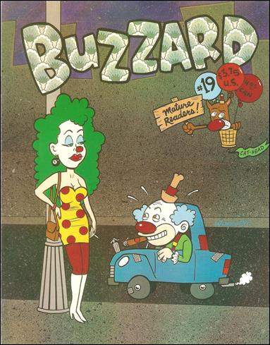 Buzzard (1990) 19-A by Cat-Head Comics