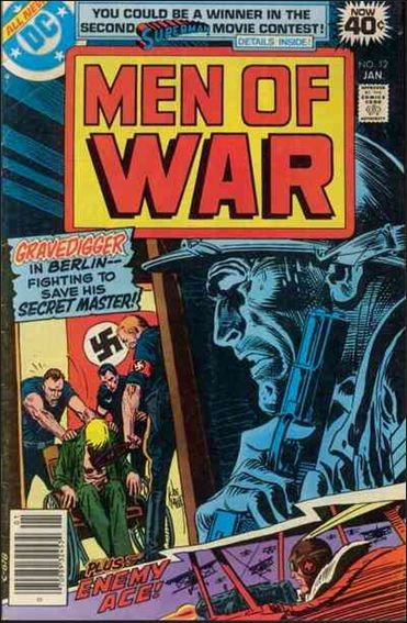 Men of War (1977) 12-A by DC