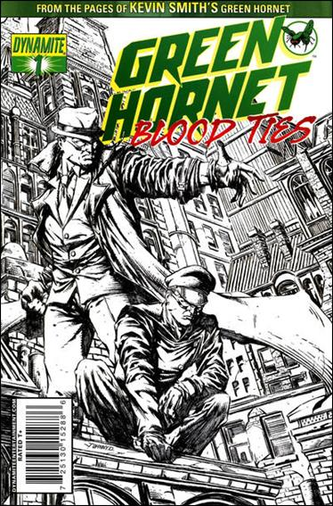 Green Hornet: Blood Ties 1-B by Dynamite Entertainment