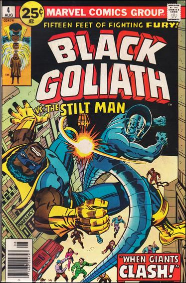 Black Goliath 4-A by Marvel