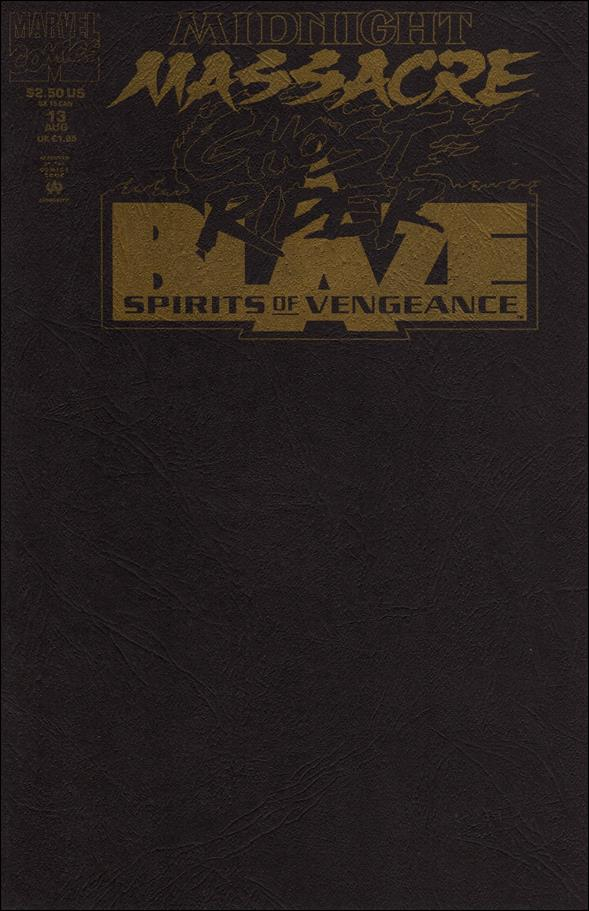 Ghost Rider/Blaze: Spirits of Vengeance 13-A by Marvel