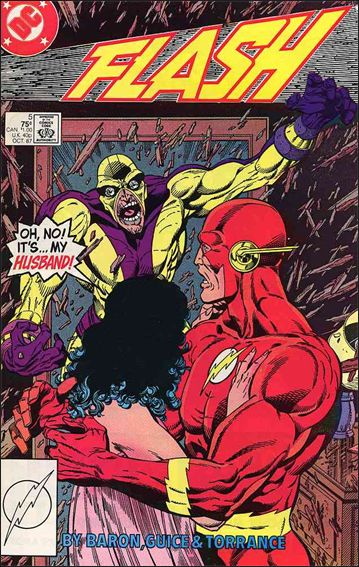 Flash (1987) 5-A by DC