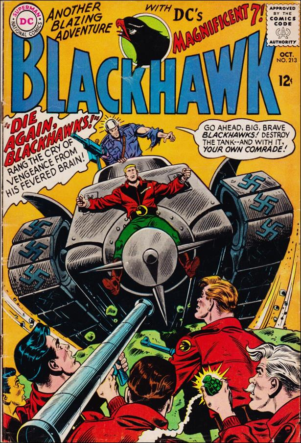 Blackhawk (1944) 213-A by DC